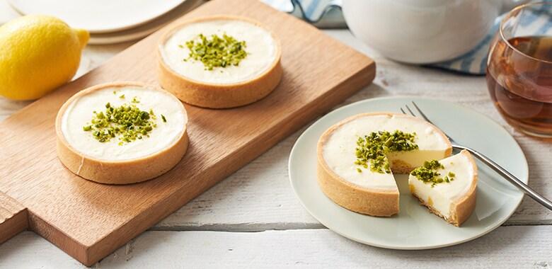 レモン爽やか!チーズクリームのミニタルト