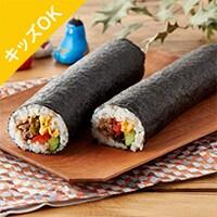 [予約]Kit3人前/彩り食材と牛しぐれ煮の恵方巻