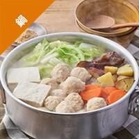 [Kit]鶏団子と野菜のちゃんこ鍋