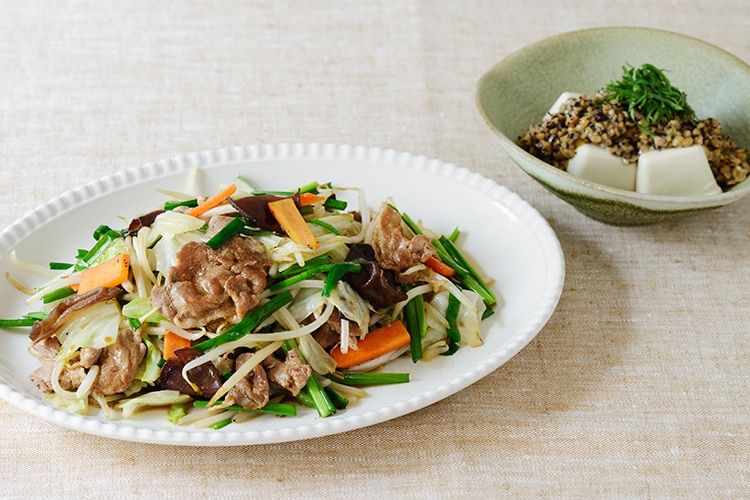 Kit2人前/飯島さんの素朴でやみつき肉野菜炒め