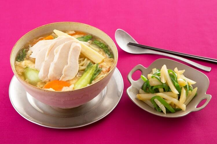 Kit2人前/こだわり中華麺で作る酸辣湯麺