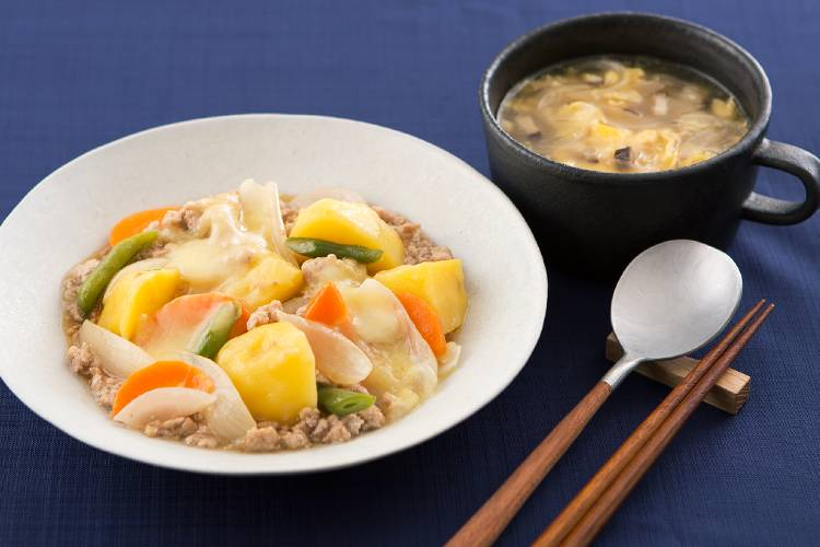 [Kit]とりわけOK!野菜がおいしい中華風肉じゃが