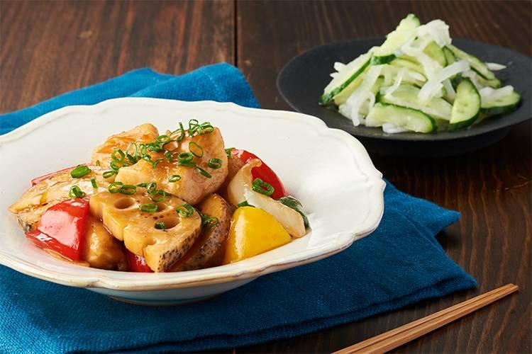 Kit2人前/鶏むね肉とたっぷり野菜の中華炒め煮