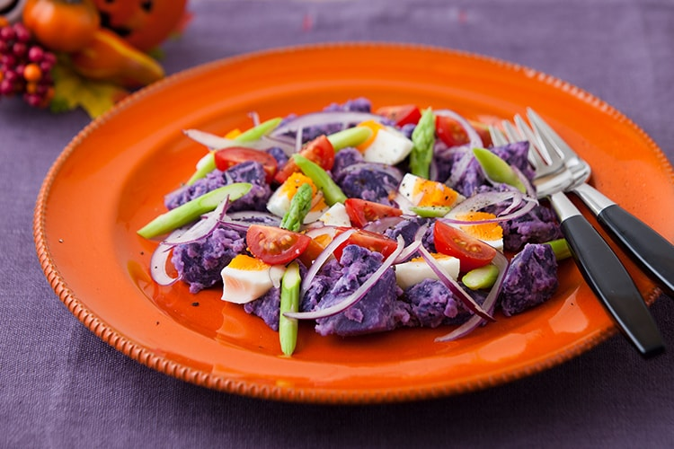 [Kit]紫じゃがいもとオランデーズのポテトサラダ