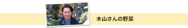 木山さんの野菜