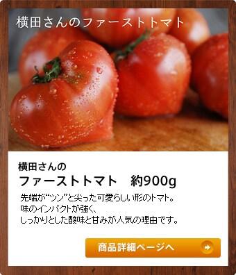 横田さんのファーストトマト 約900g