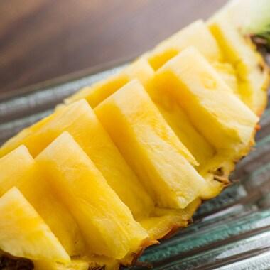 甘みがぎゅ〜っとつまったはちみつパイナップル