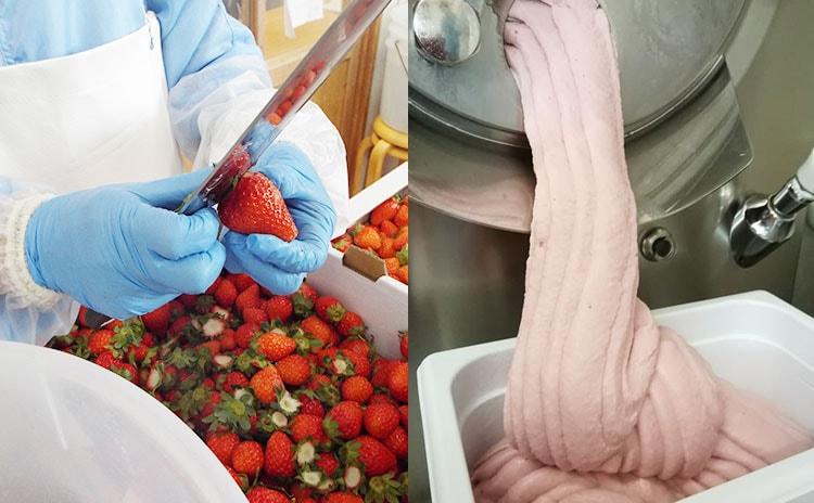 美味しさの秘訣は、厳選した材料とハンドメイド:イメージ