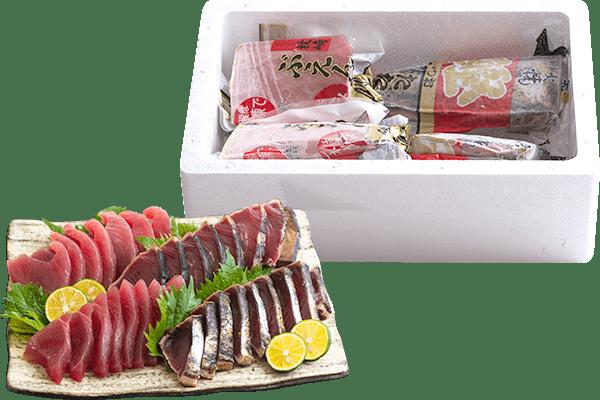 鹿児島枕崎産 ぶえんカツオの食べ比べセット