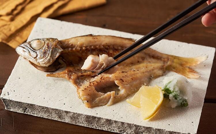定番のあじから高級な黒ムツや真鯛まで、豪華食べ比べ:イメージ