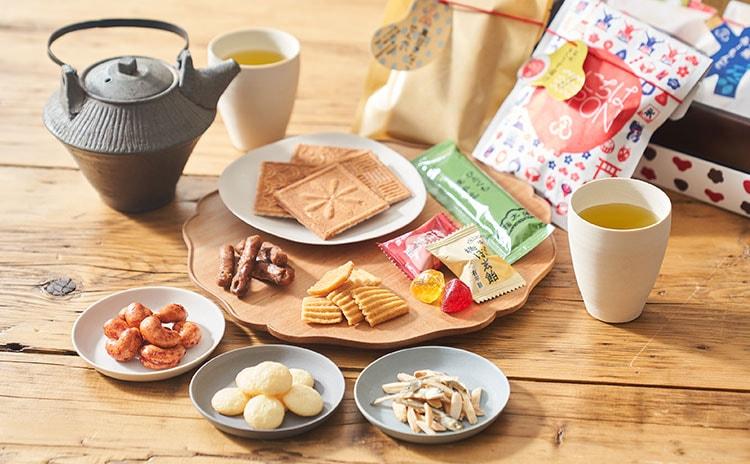 創業200年。老舗和菓子屋の味をバラエティ豊かなギフトに:イメージ