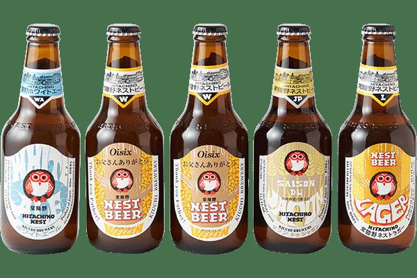 木内酒造 世界で愛される日本の地ビール5本セット