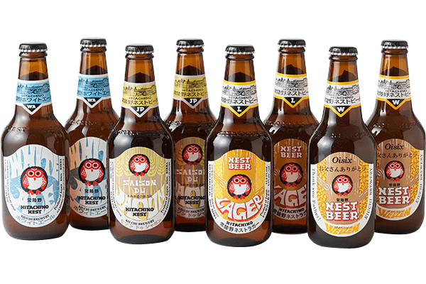 木内酒造 世界で愛される日本の地ビール8本セット