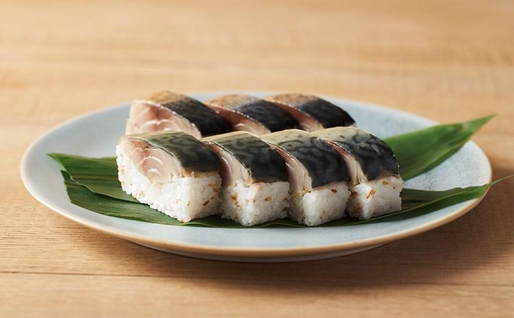 新鮮な金華さばで作った棒寿司を、豪華食べ比べセットに:イメージ
