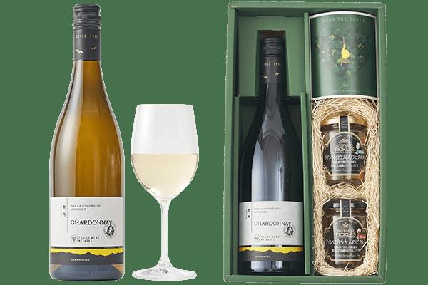 都農ワイン 白ワイン&おつまみセット