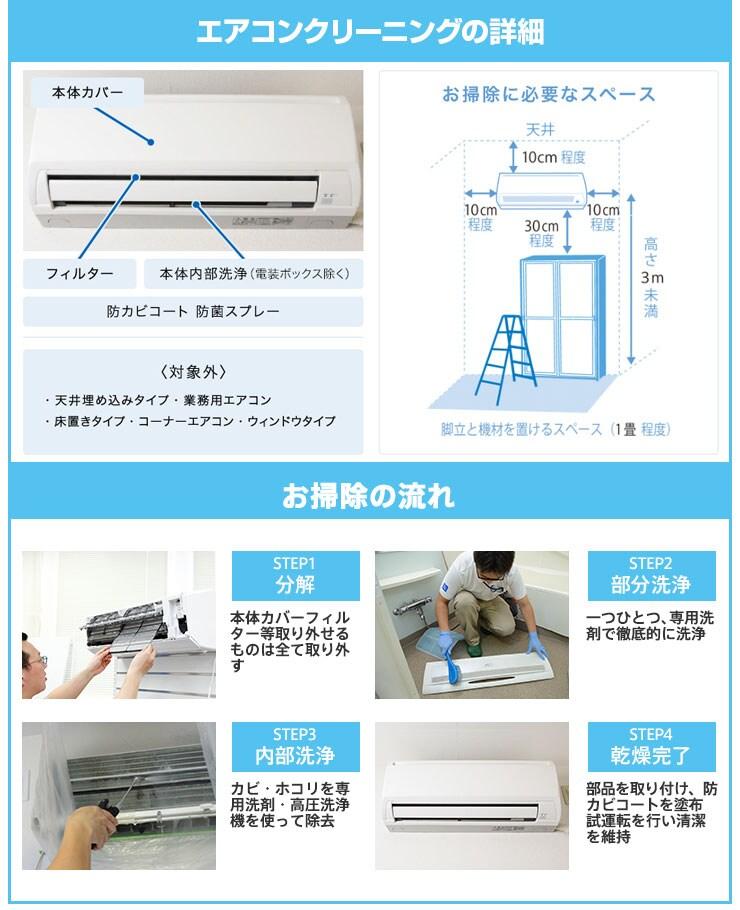 エアコン分解洗浄の詳細