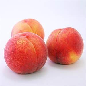 こちらが「黄金桃」。置いておくだけでも、辺りにトロピカルフルーツのような甘い香りが漂います。