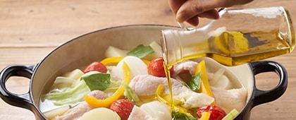 オリーブ鍋