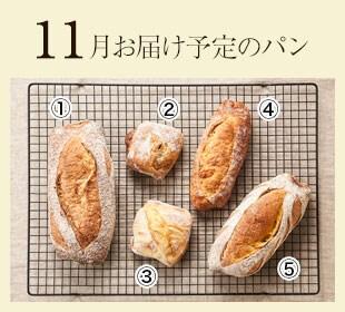 5月お届け予定パン