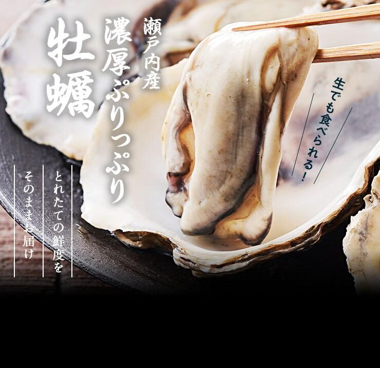 広島県から瀬戸内産 ぷりっぷり牡蠣を産地直送!