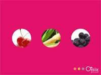 日本各地から集まった、彩り豊かな野菜とフルーツ