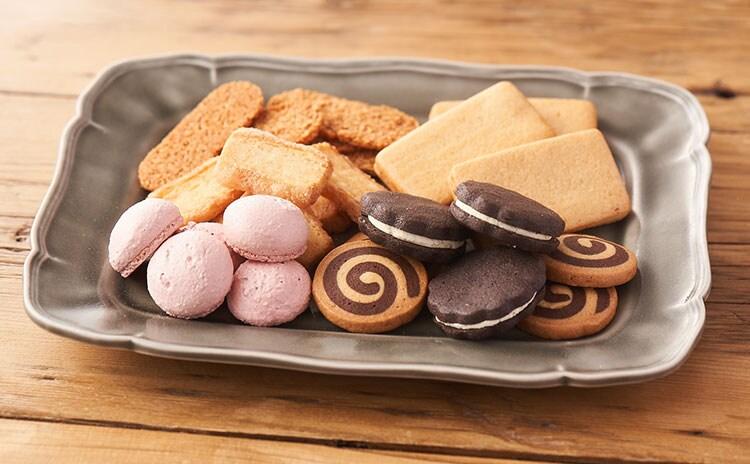 6種類のクッキーは飽きのこない美味しさ:イメージ
