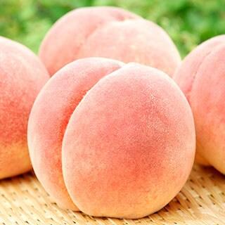 久津間さんのずっしり桃