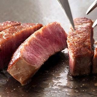 宮崎牛のサーロインステーキ