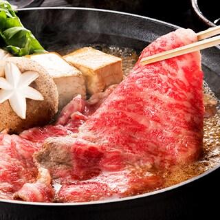 宮崎牛すき焼きorステーキ