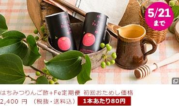 はちみつりんご酢+Fe 50%OFF