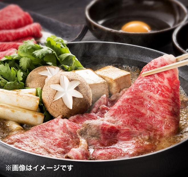 宮崎牛すき焼き 食べ比べの画像