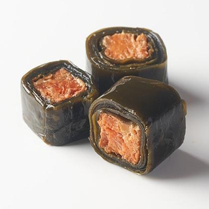 紅鮭昆布巻