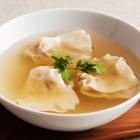 つるんとスープに 海老入り肉ワンタン