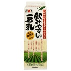 【0円Pass】無調整・まるで飲む豆腐 濃厚な豆乳1L