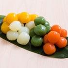 パッと鮮やか!一口サイズの4色野菜入玉こん