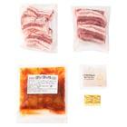 【肉500g】サムギョプサルセット(韓国風豚バラ焼肉)