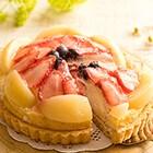 【予約】いちごと白桃のタルト