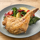 【予約】越前白山鶏 ローストレッグ(ローズマリー)