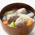 [予約]数量限定 スープ付きでかんたんつみれ汁セット