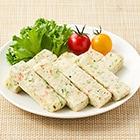 手づかみ食べに!ツナと豆腐と5種野菜のスティック