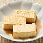レンジで簡単!しっとり揚げ出し豆腐(つゆたっぷり)