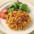 【TFT】レンジでヘルシー 国産玄米のチキンライス