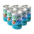 果汁100%パイナップルジュース(6缶パック)