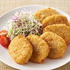 レンジで!北海道産4種野菜のコロッケ