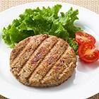 【お肉不使用】きのこで作ったハンバーガーパティ