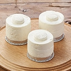 [予約]いちごをのせて!キャンドルケーキ土台(3個)