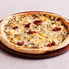 パリもちピッツァ(バジルと5種チーズ)