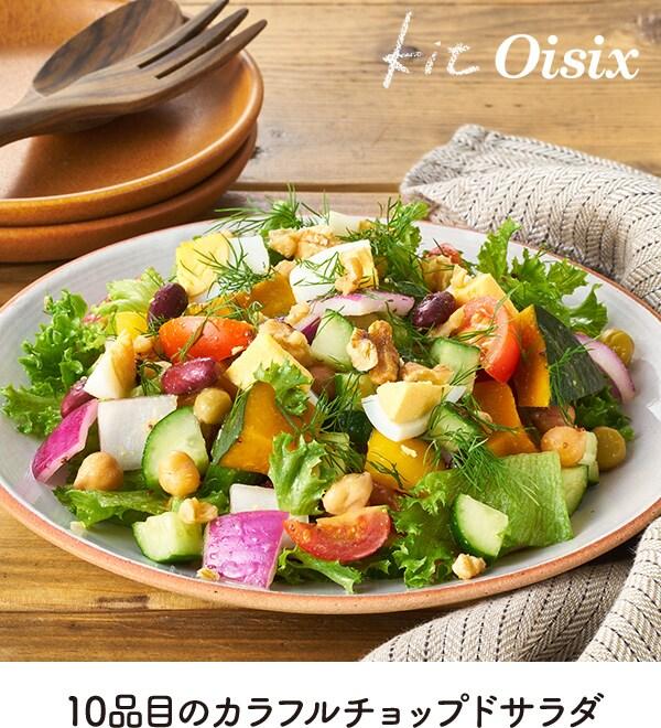 kit Oisix 10品目のカラフルチョップドサラダ